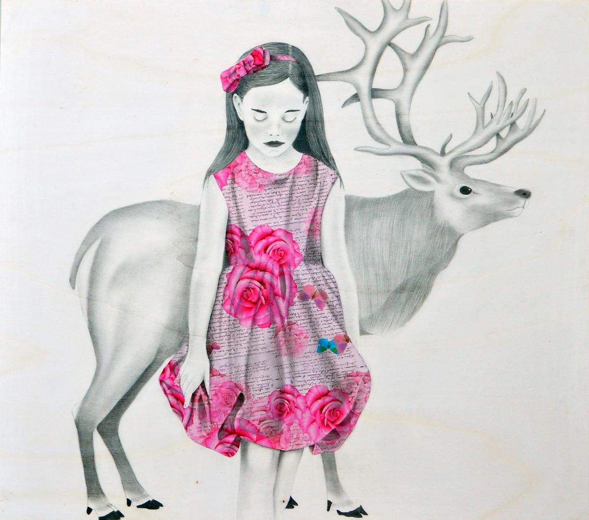 Marzia Roversi Olga E La Renna Art For Sale On Kooness