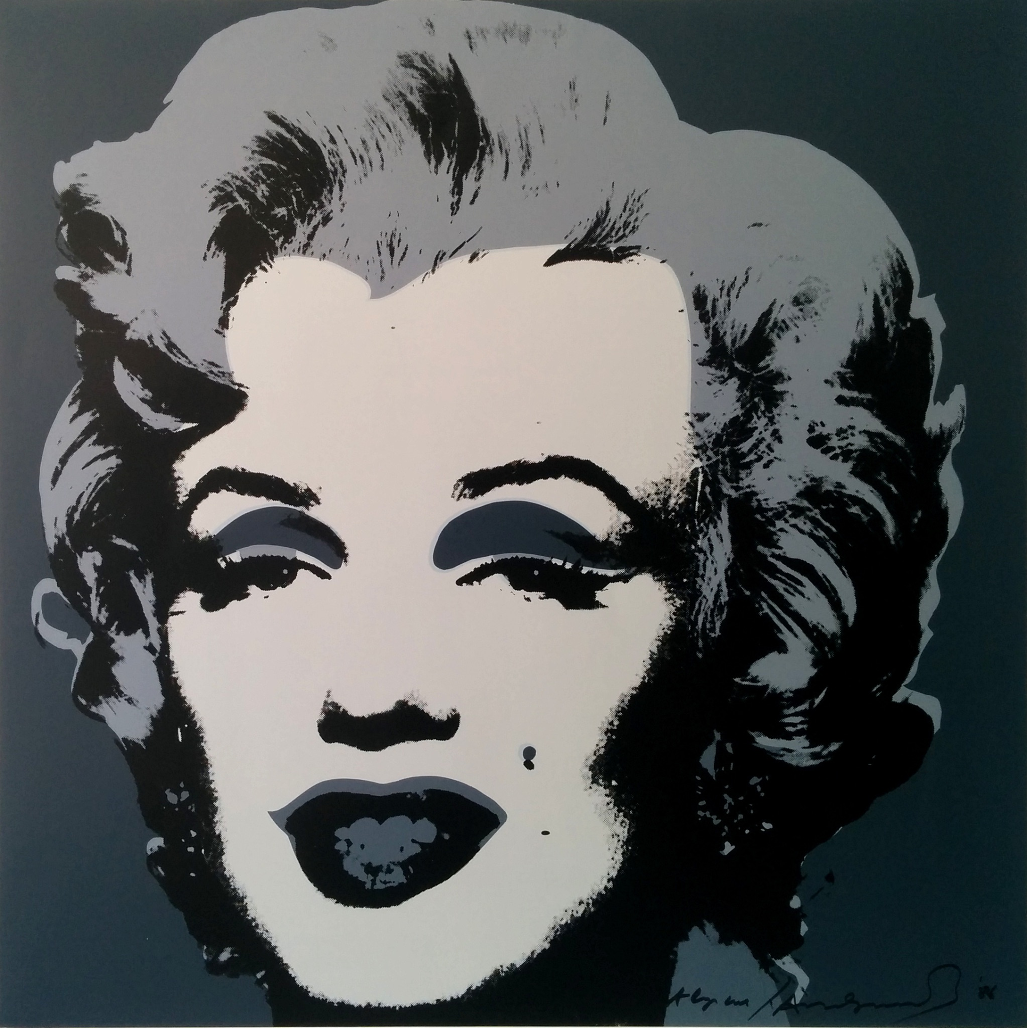 Marilyn, this is not by me (Andy Warhol, 1970)