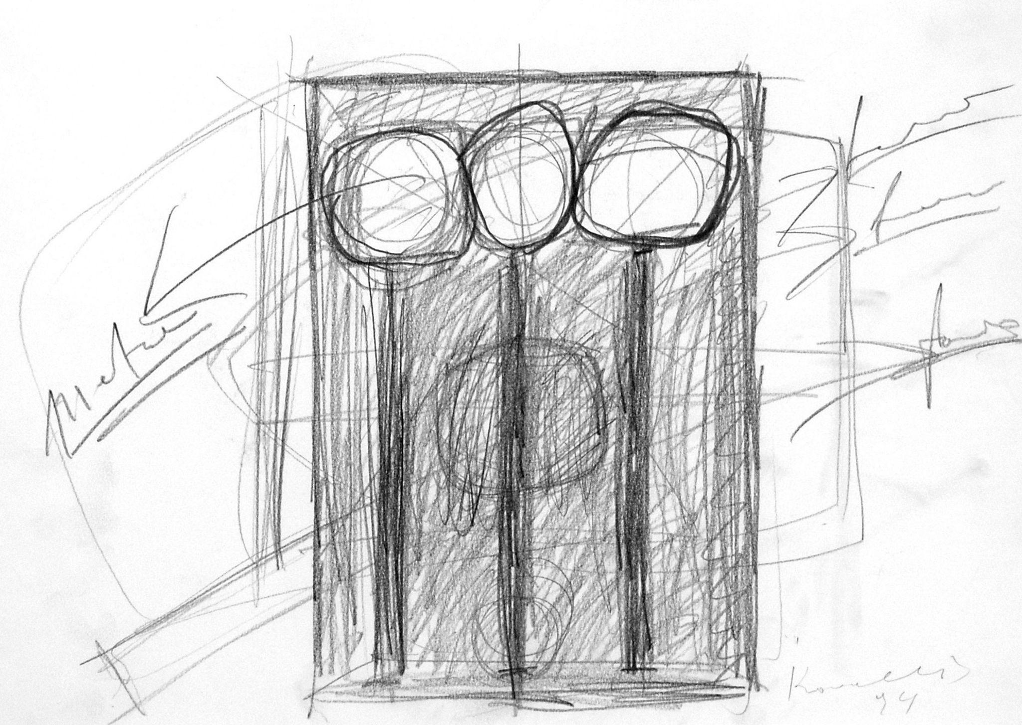 Jannis kounellis untitled art collection online for sale