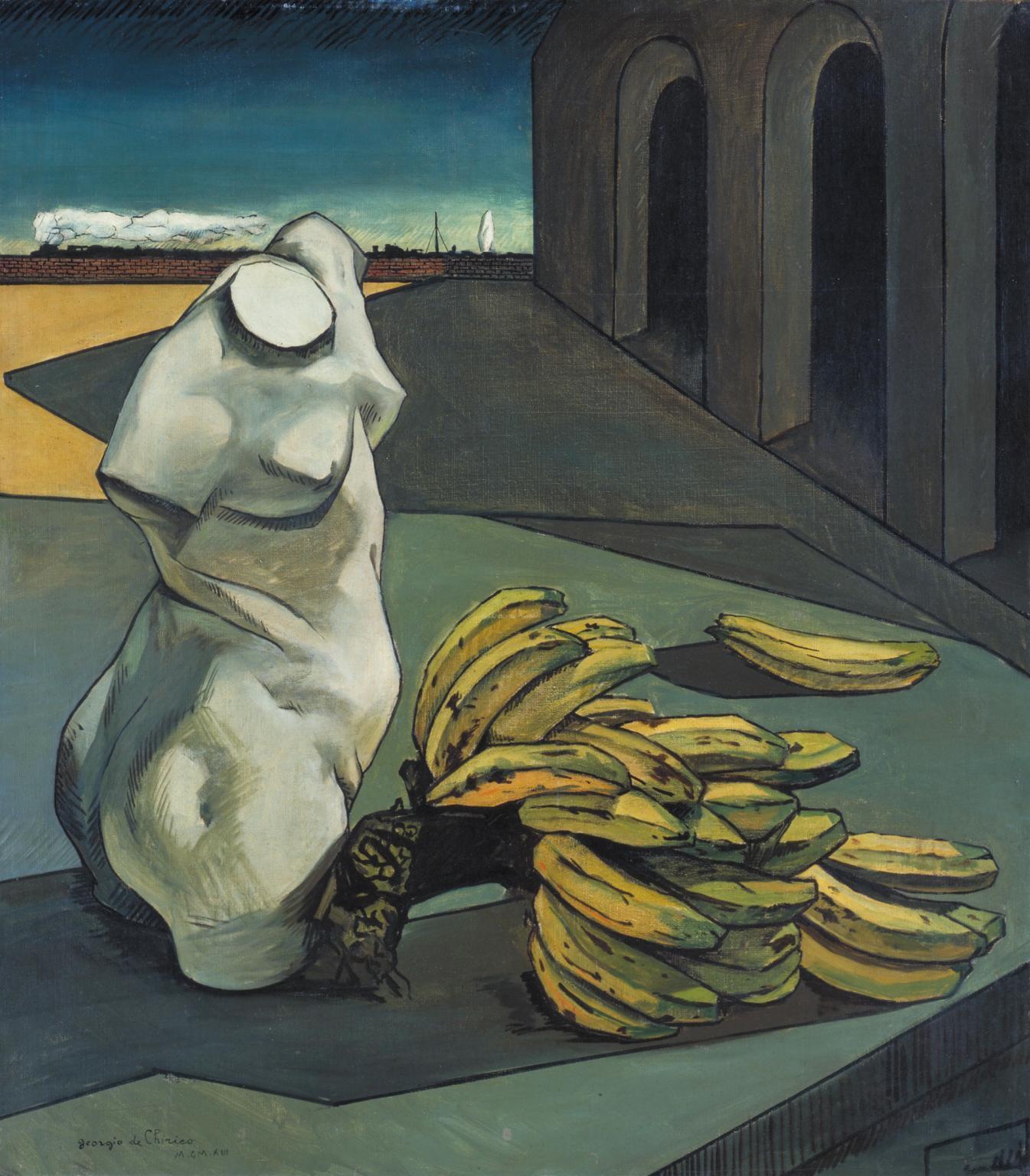 Giorgio de Chirico, The Uncertainty of the Poet Surrealism